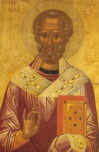 San Nicola babbo natale