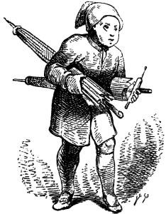 l'uomo della sabbia Hoffmann Ole Lukøje