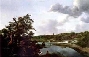 Ruisdael l'uomo della sabbia Hoffmann  Clara