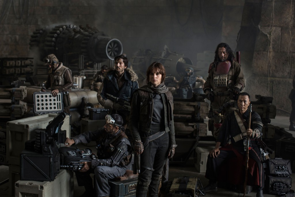 Un primo sguardo al set di Rogue One: A Star Wars Story