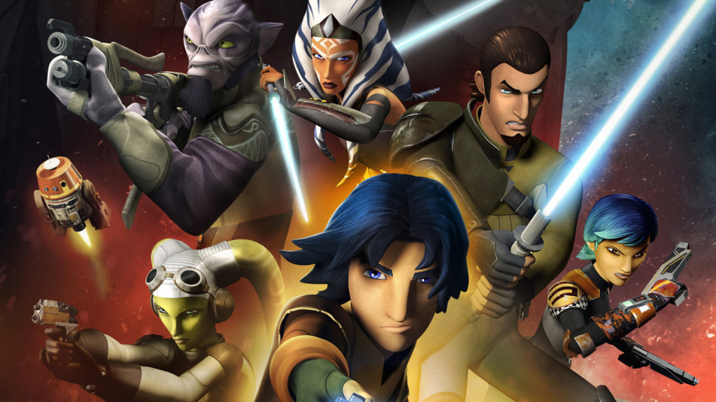 I protagonisti di Star Wars Rebels