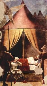 Piero della Francesca sogno di Costantino