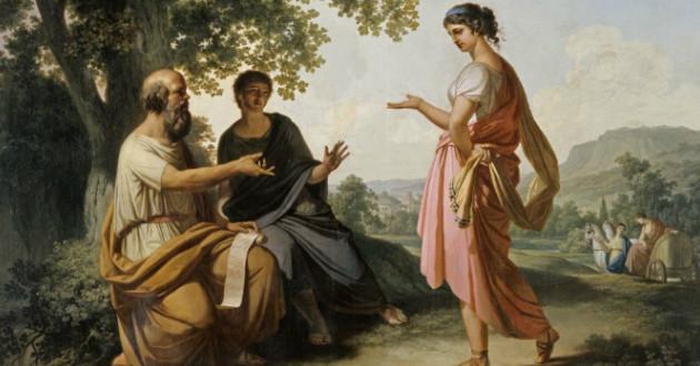 Diotima, maestra d'amore: da Platone a Hölderlin