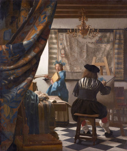 vermeer atelier