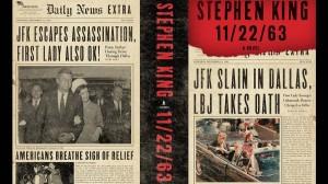 """Il titolo del libro """"22/11/63"""" (o 11/22/63), scritto da Stephen King e pubblicato nel 2011."""