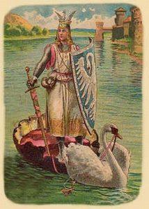 cavaliere del cigno medioevo