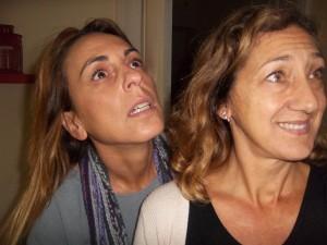 """Claudia Napolitano e Giorgia Palombi in """"Quattro Sante in tre atti di Gertrude Stein"""""""