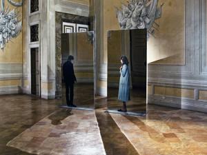 M.PISTOLETTO, Annunciazione Terrae Motus, Caserta Palazzo Reale, collezione Terrae Motus