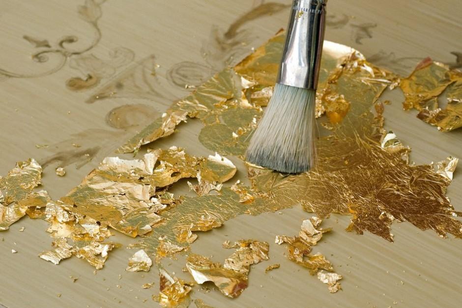 Pareti Doro : La foglia doro: la pittura si fa preziosa lacooltura