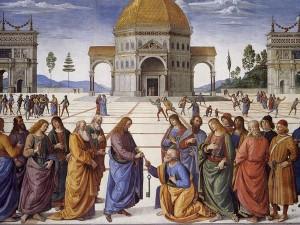 Pietro Perugino, Consegna delle Chiavi a San Pietro