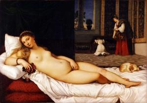 Tiziano, Venere di Urbino