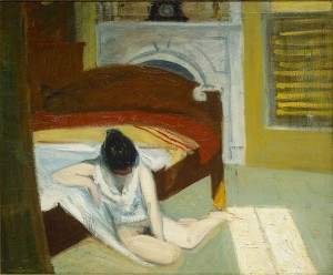 Summer Interior, 1909 Olio su tela New York, Whitney Museum of American Art.