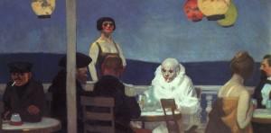 Edward Hopper, Soir Bleu, 1914 Olio su tela New York, Whitney Museum of American Art.