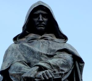 Bruno spaccio statua