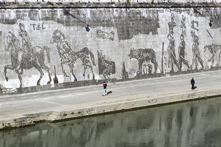 Kentridge a Roma: lo sporco diventa arte