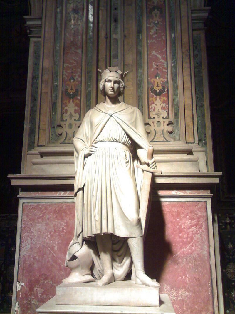 scultura napoletana-Monumento Funebre a Corradino di Svevia