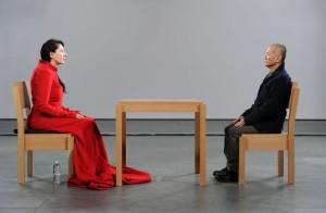 M.Abramovic, The artist is present, Moma, New York, 2012.