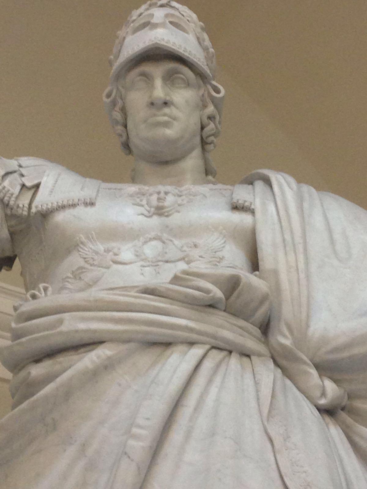scultura napoletana- statua di Ferdinando I di Borbone