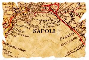 Napoli greca cartina