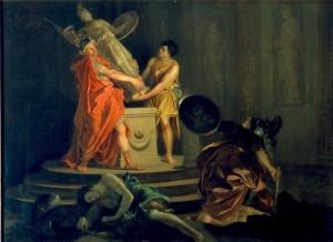 Ulisse e Diomede rubano il Palladio