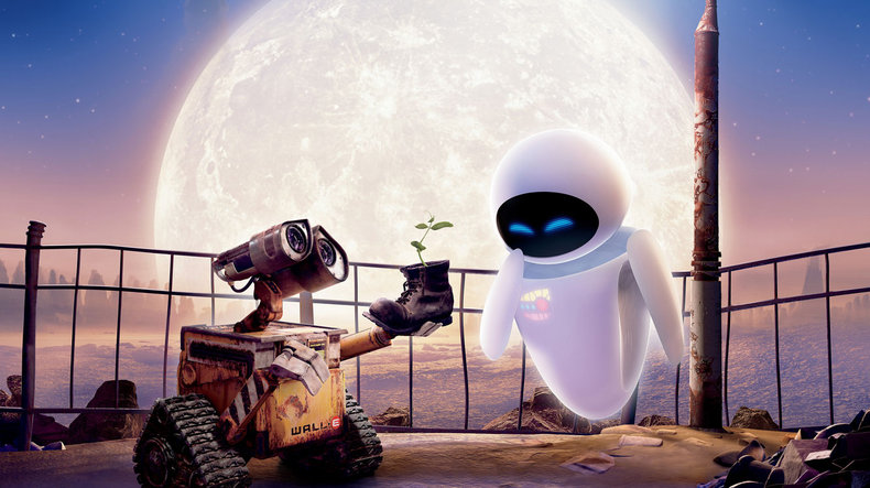 Nuovo disne pixar idee wall e  pz kit di robot movie