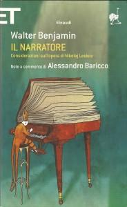 La copertina dell'edizione Einaudi del saggio su Leskov.