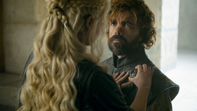 Daenerys nomina Tyrion Lannister Primo Cavaliere