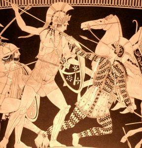 Pentesilea e Achille.