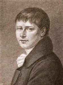 Heinrich von Kleist. autore di Pentesilea.