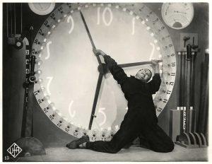 La lotto con l'orologio in Metropolis