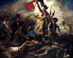 Eugene Delacroix, La liberté guidant le peuple, 1830