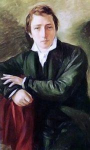 Il poeta tedesco Heinrich Heine