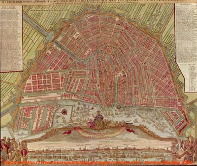Pianta antica Amsterdam