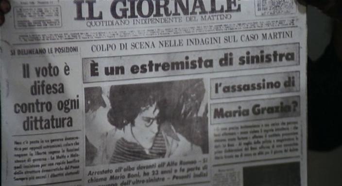 L'articolo che incrimina Mario Boni