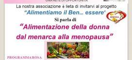 Donna, alimentazione e benessere: Evento 9 marzo 2017- Biblioteca Flora, Napoli
