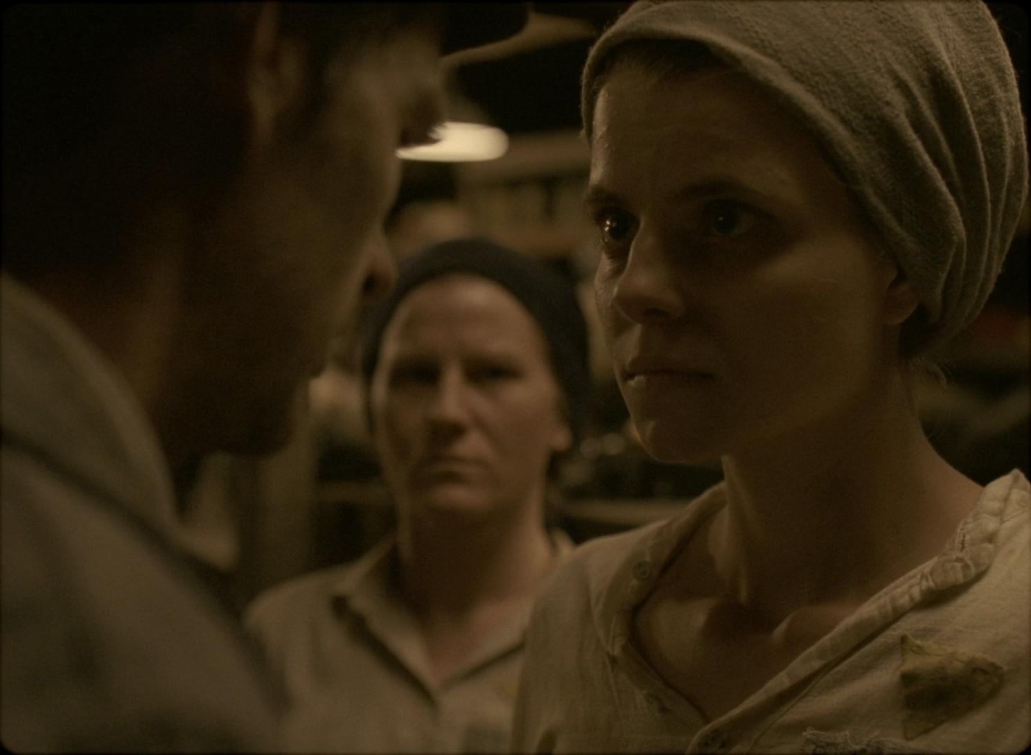 Saul ed Ella si incontrano