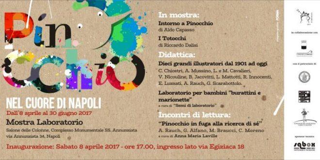 Pinocchio nel cuore di Napoli: mostra alla SS. Annunziata