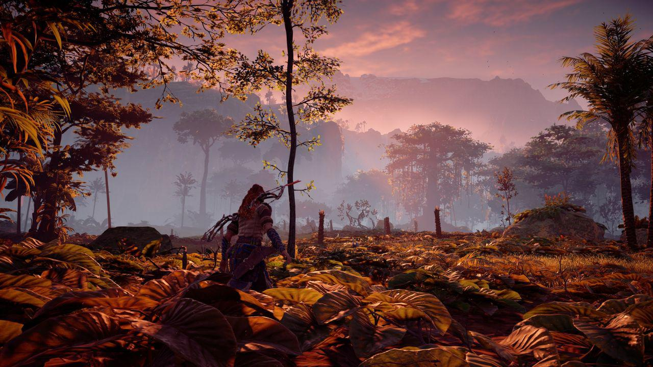 Foresta in Horizon Zero Dawn