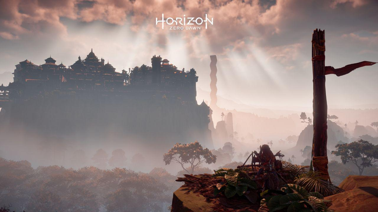 Meridiana e la Cupola in Horizon Zero Dawn