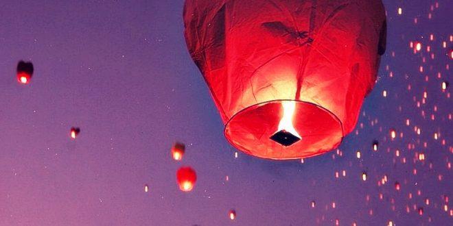 Lanterne cinesi: quando il cielo si riempie di sogni