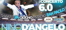 Nino D'Angelo e il ritorno in Curva B con gli amici di sempre