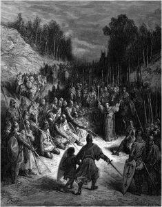 Gustave Doré Pietro l'Eremita Chanson de Jérusalem