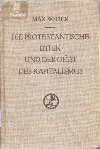 Max Weber etica protestante