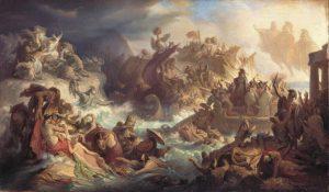 i Persiani: la battaglia