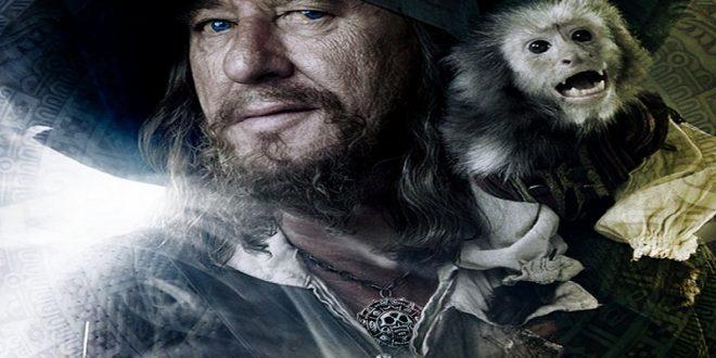 Capitan Hector Barbossa e gli altri pirati