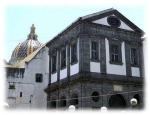 Esterno della facciata del complesso dei Santi Marcellino e Festo