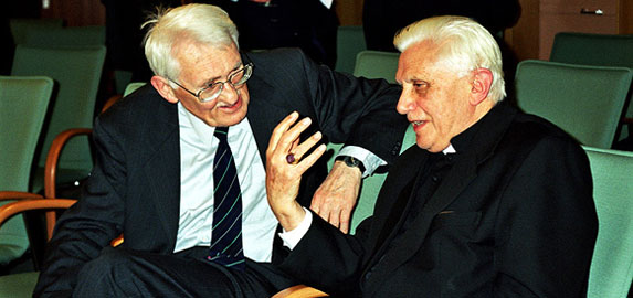 Habermas e Ratzinger, ragione e fede in dialogo