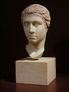 Scultura di Cleopatra