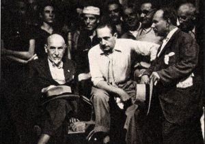 Angelo Musco e Luigi Pirandello.