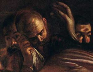Caravaggio Seppellimento di Santa Lucia